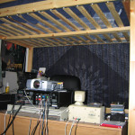 Another view of the loft. In November 2002, I drove from Philadelphia to Baltimore to buy that thing.